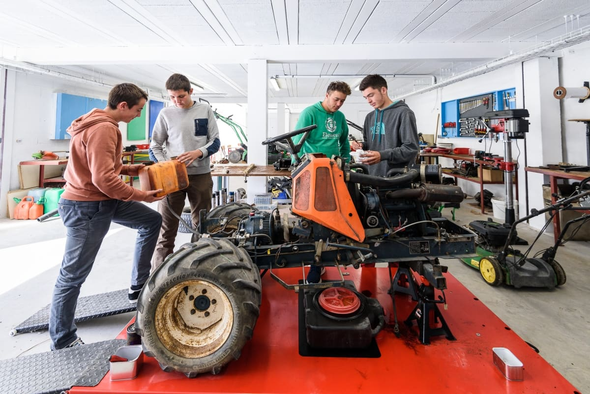 Bac Professionnel Agro-Equipements